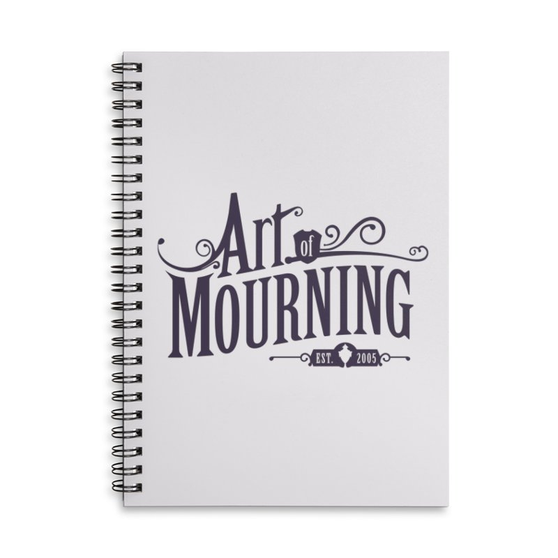 Art of Mourning Accessories Notebook by The Art of Mourning Shop