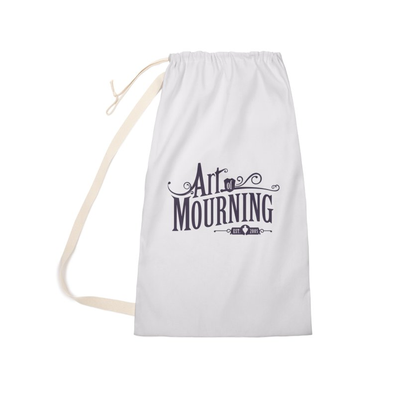 Art of Mourning Accessories Laundry Bag Bag by The Art of Mourning Shop