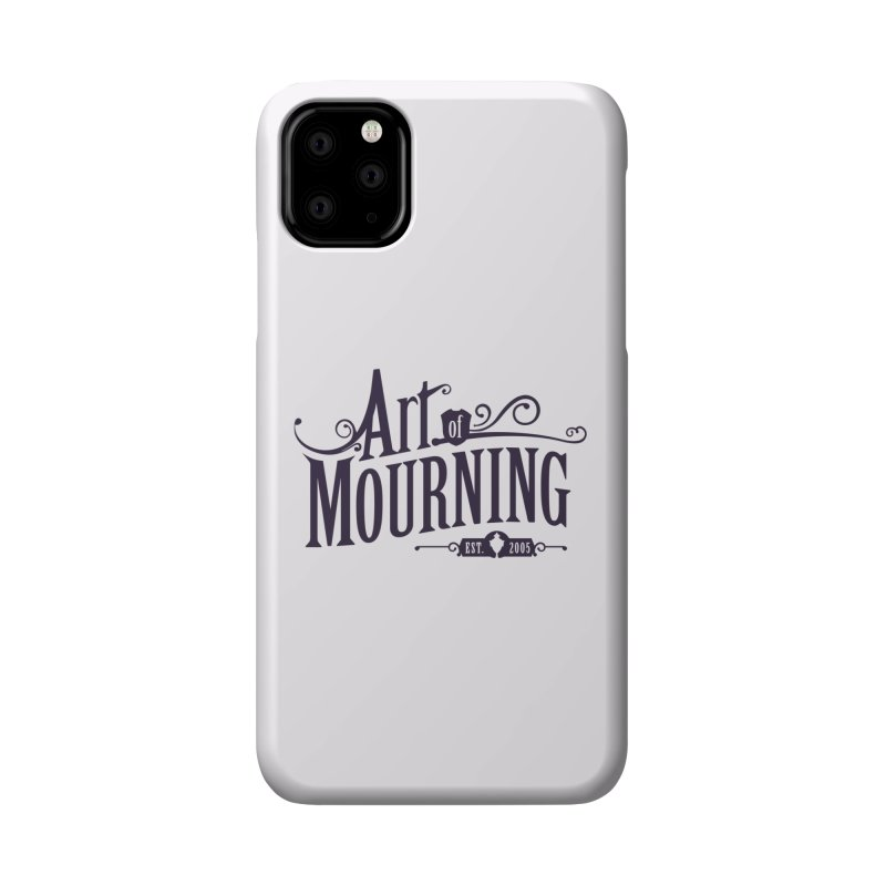 Art of Mourning Accessories Phone Case by The Art of Mourning Shop