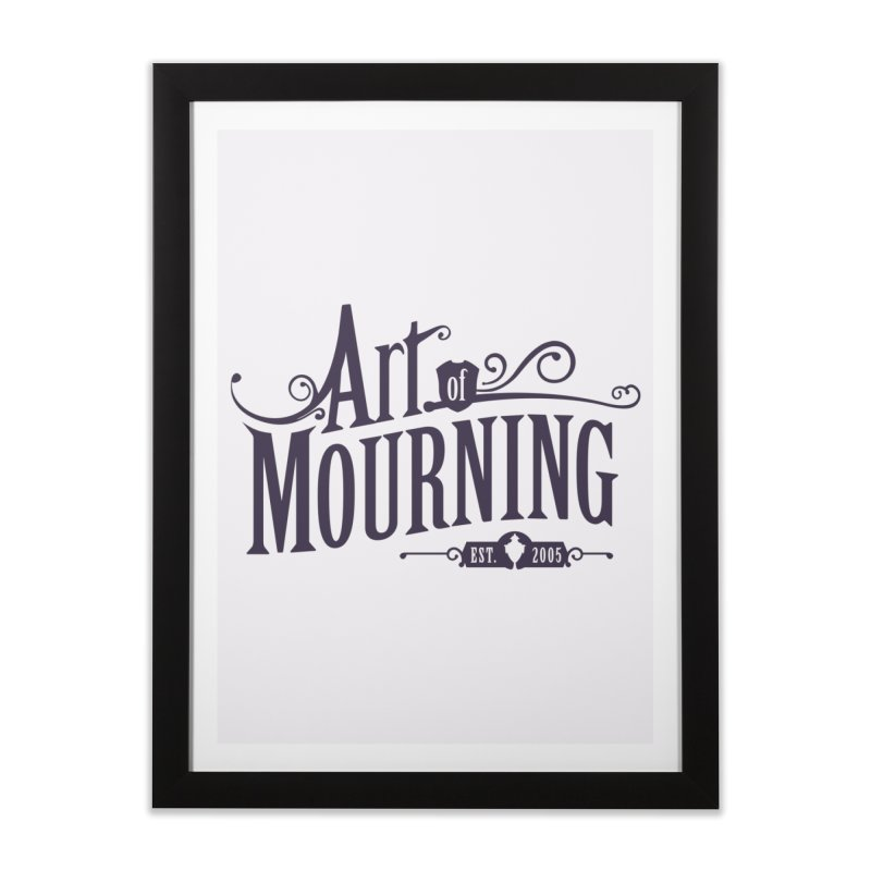Art of Mourning Home Framed Fine Art Print by The Art of Mourning Shop