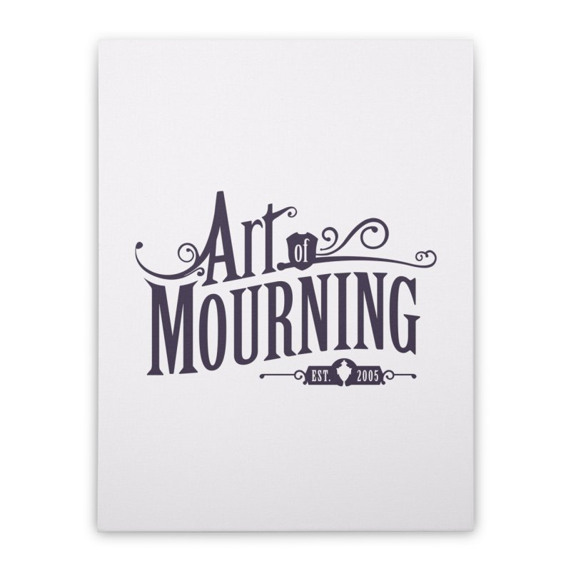Art of Mourning Home Stretched Canvas by The Art of Mourning Shop