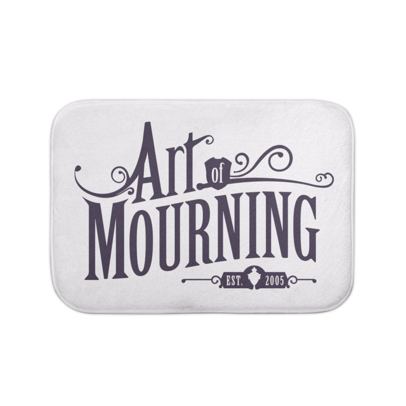 Art of Mourning Home Bath Mat by The Art of Mourning Shop