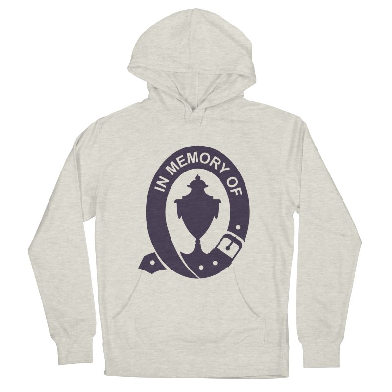 Art of Mourning 'In Memory Of' Men's French Terry Pullover Hoody by The Art of Mourning Shop