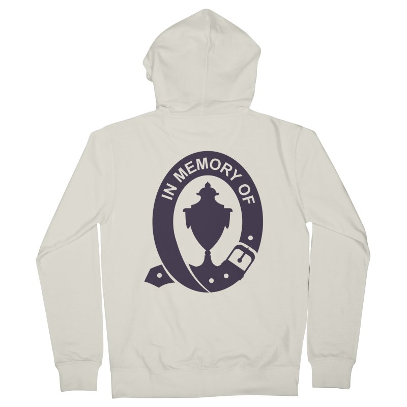 Art of Mourning 'In Memory Of' Men's French Terry Zip-Up Hoody by The Art of Mourning Shop