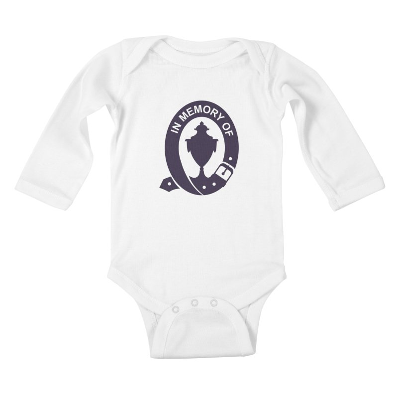 Art of Mourning 'In Memory Of' Kids Baby Longsleeve Bodysuit by The Art of Mourning Shop