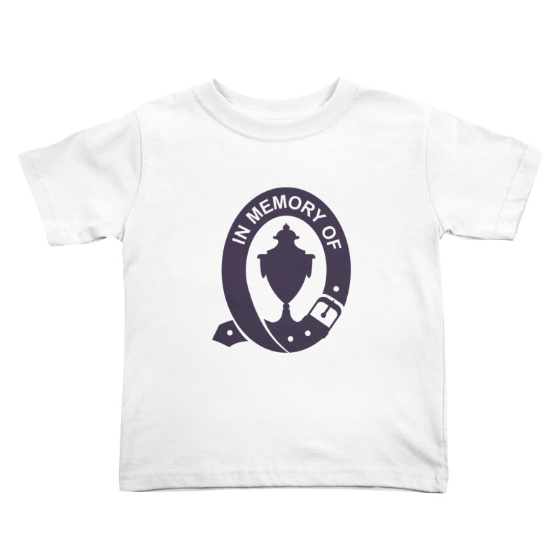 Art of Mourning 'In Memory Of' Kids Toddler T-Shirt by The Art of Mourning Shop