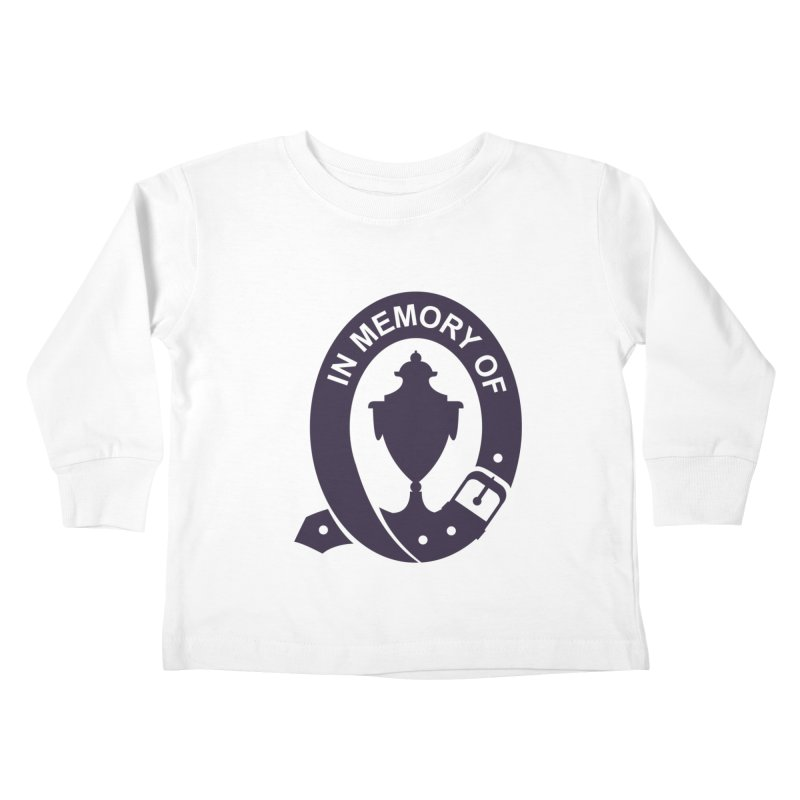 Art of Mourning 'In Memory Of' Kids Toddler Longsleeve T-Shirt by The Art of Mourning Shop