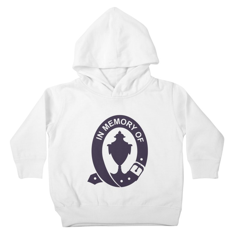 Art of Mourning 'In Memory Of' Kids Toddler Pullover Hoody by The Art of Mourning Shop
