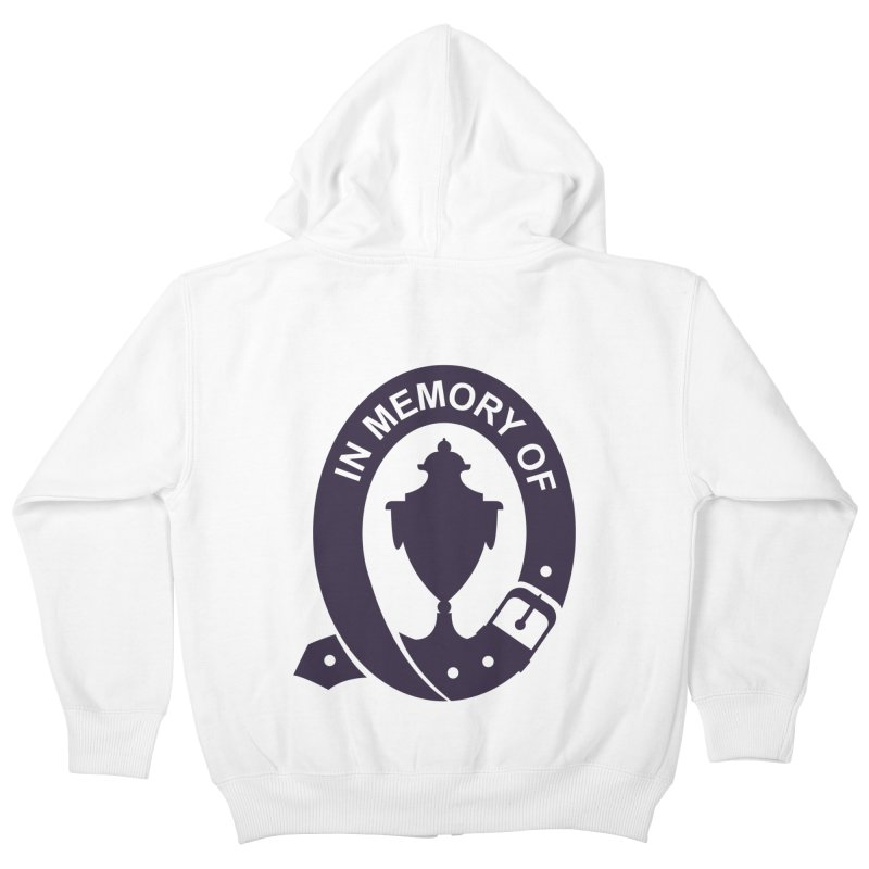 Art of Mourning 'In Memory Of' Kids Zip-Up Hoody by The Art of Mourning Shop