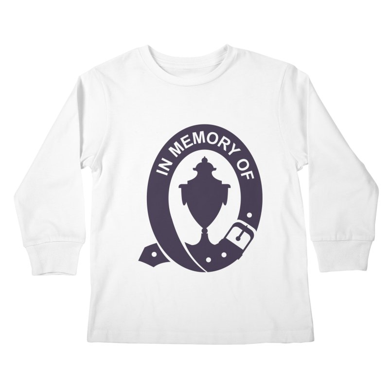 Art of Mourning 'In Memory Of' Kids Longsleeve T-Shirt by The Art of Mourning Shop