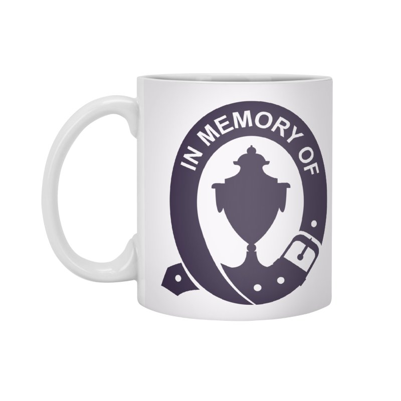 Art of Mourning 'In Memory Of' Accessories Mug by The Art of Mourning Shop
