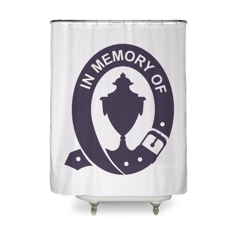 Art of Mourning 'In Memory Of' Home Shower Curtain by The Art of Mourning Shop
