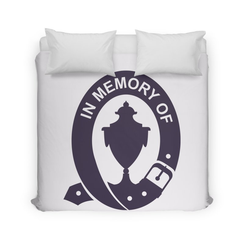 Art of Mourning 'In Memory Of' Home Duvet by The Art of Mourning Shop