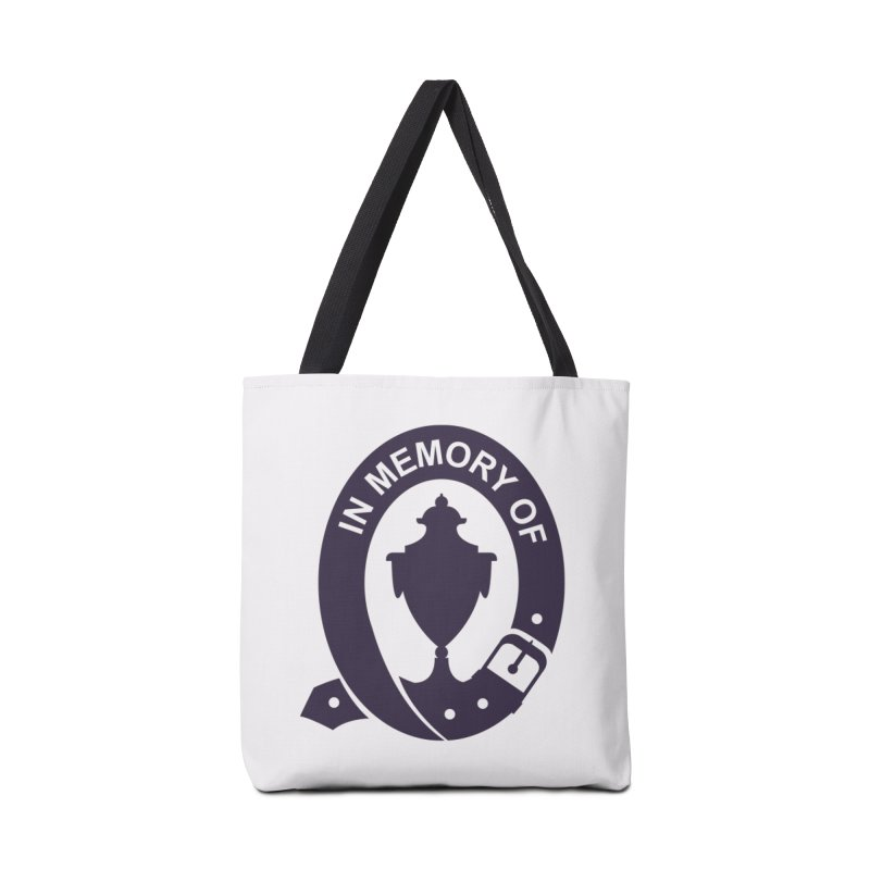 Art of Mourning 'In Memory Of' Accessories Tote Bag Bag by The Art of Mourning Shop