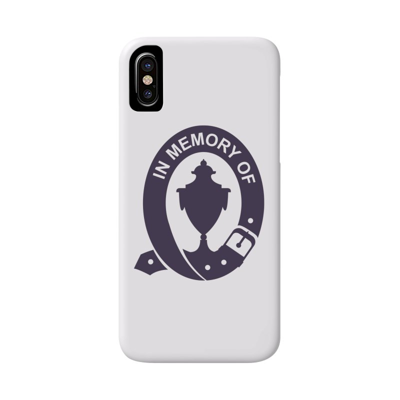 Art of Mourning 'In Memory Of' Accessories Phone Case by The Art of Mourning Shop