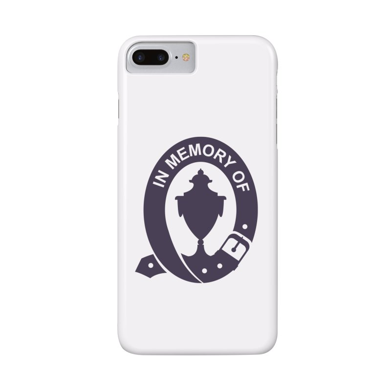 Art of Mourning 'In Memory Of' Accessories Phone Case by Art of Mourning Warehouse