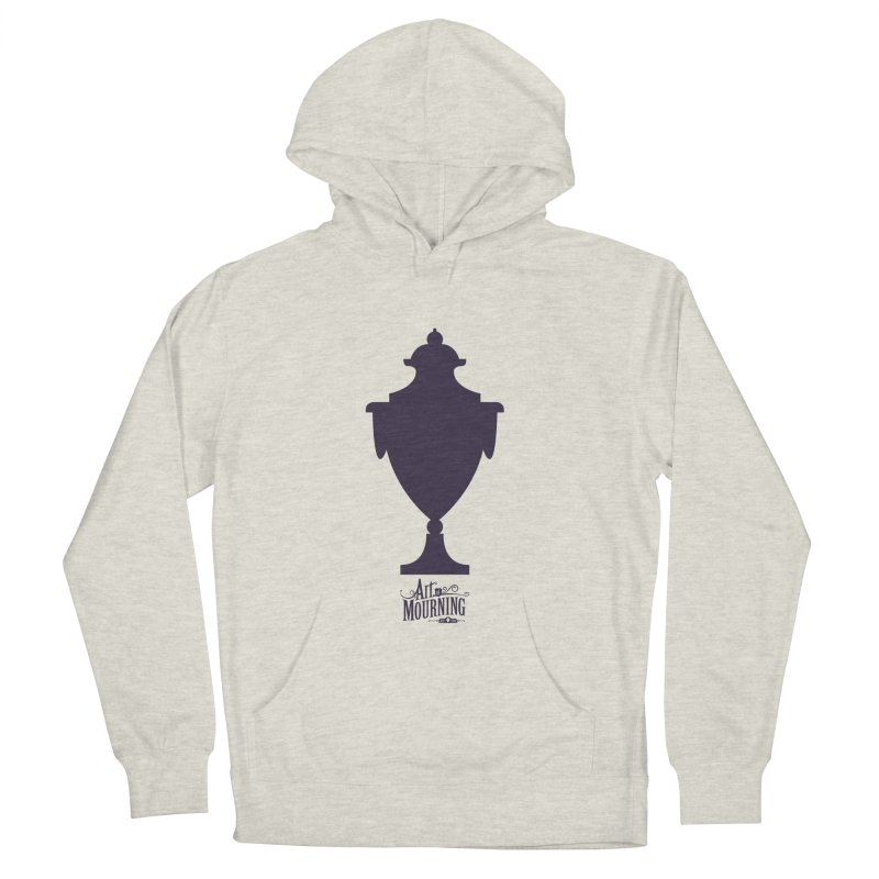 Art of Mourning 'Urn' Women's French Terry Pullover Hoody by The Art of Mourning Shop