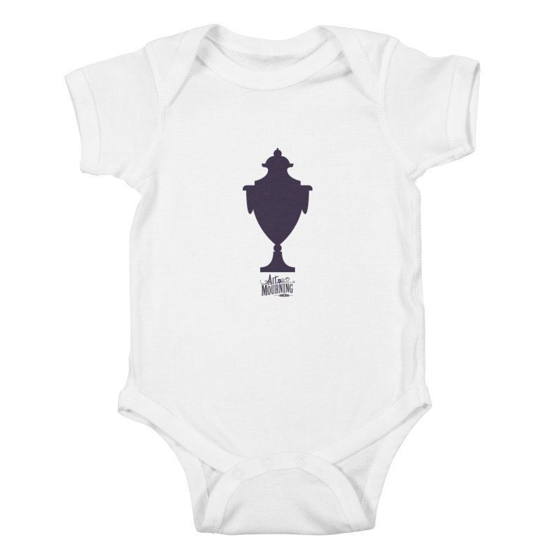 Art of Mourning 'Urn' Kids Baby Bodysuit by The Art of Mourning Shop