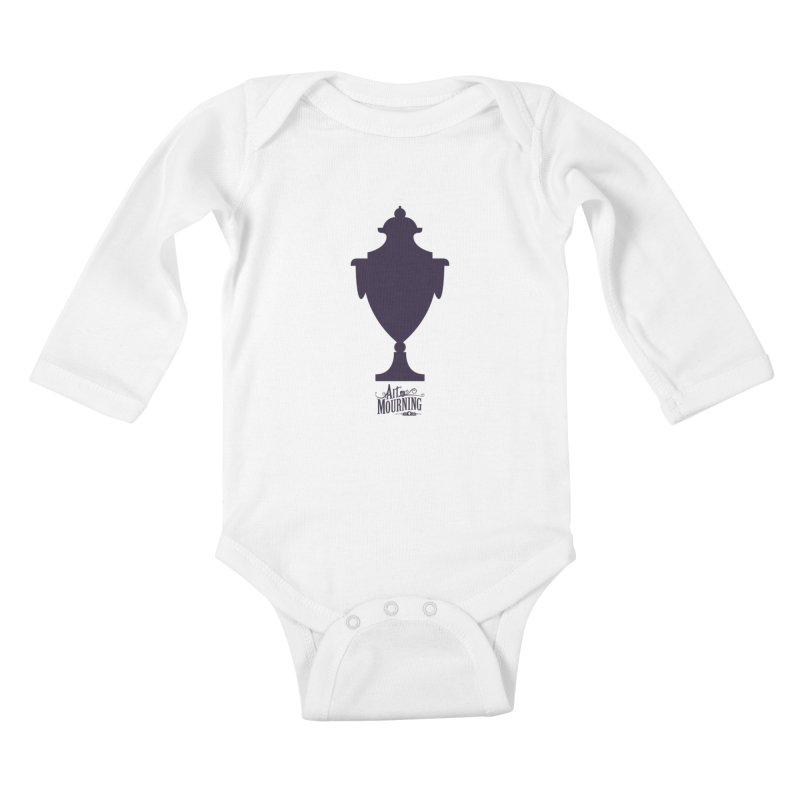 Art of Mourning 'Urn' Kids Baby Longsleeve Bodysuit by The Art of Mourning Shop