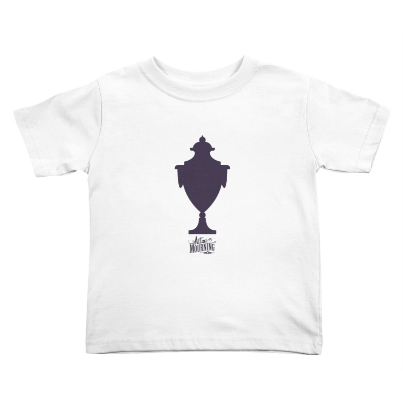 Art of Mourning 'Urn' Kids Toddler T-Shirt by The Art of Mourning Shop