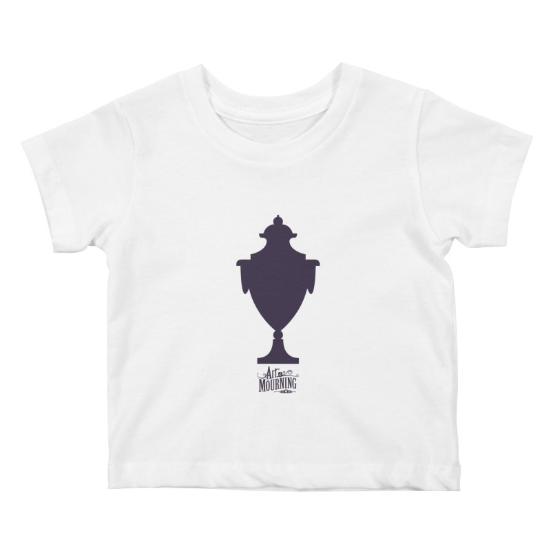 Art of Mourning 'Urn' Kids Baby T-Shirt by The Art of Mourning Shop