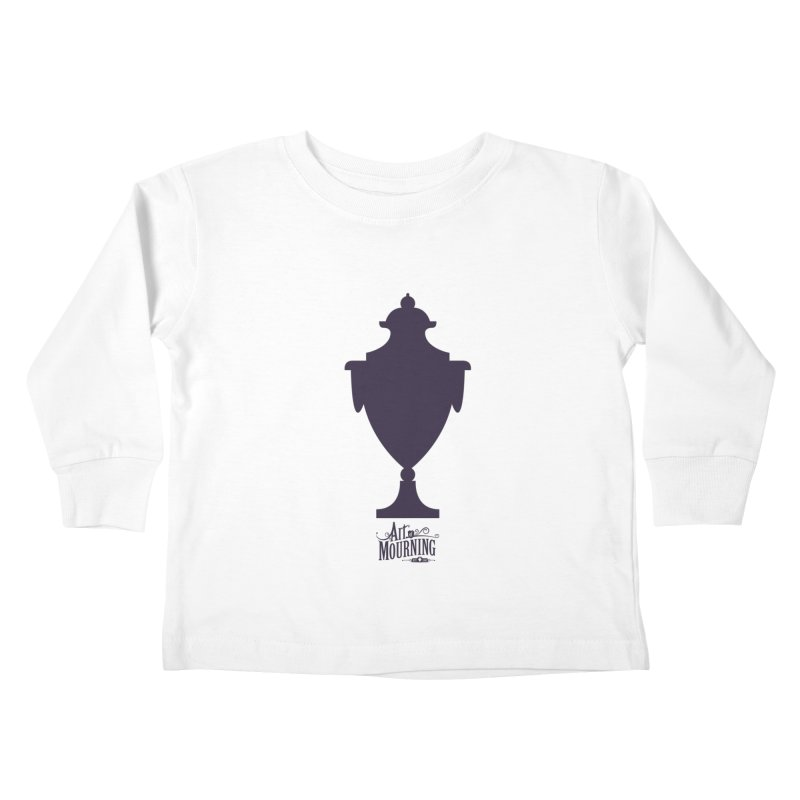 Art of Mourning 'Urn' Kids Toddler Longsleeve T-Shirt by The Art of Mourning Shop