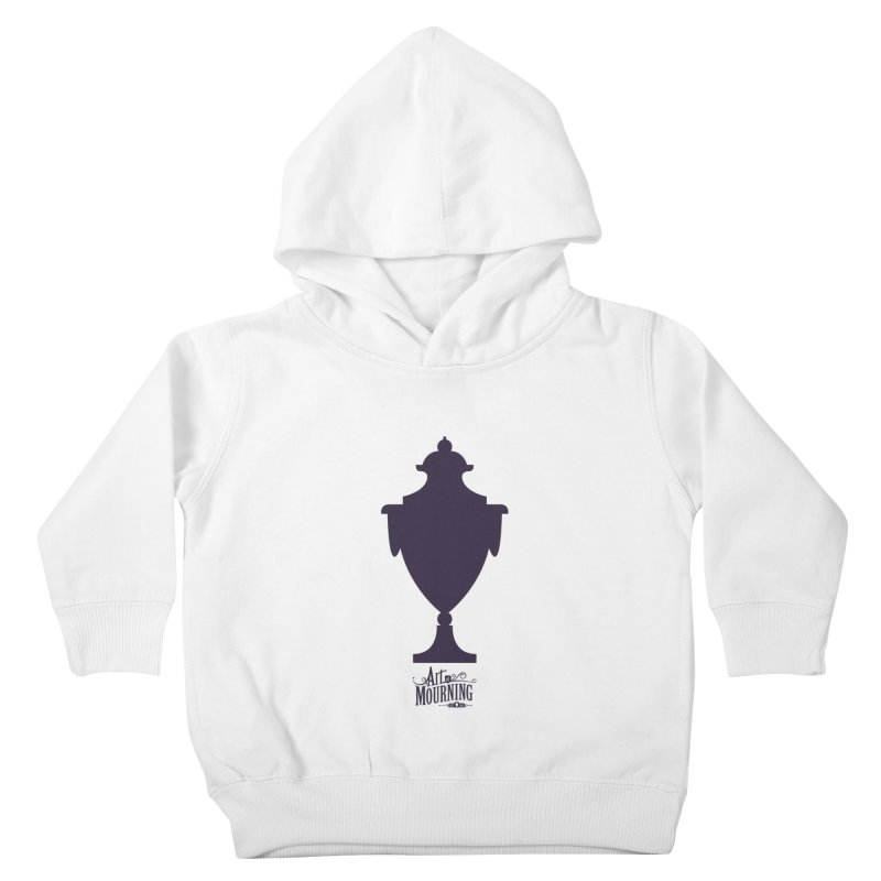 Art of Mourning 'Urn' Kids Toddler Pullover Hoody by The Art of Mourning Shop