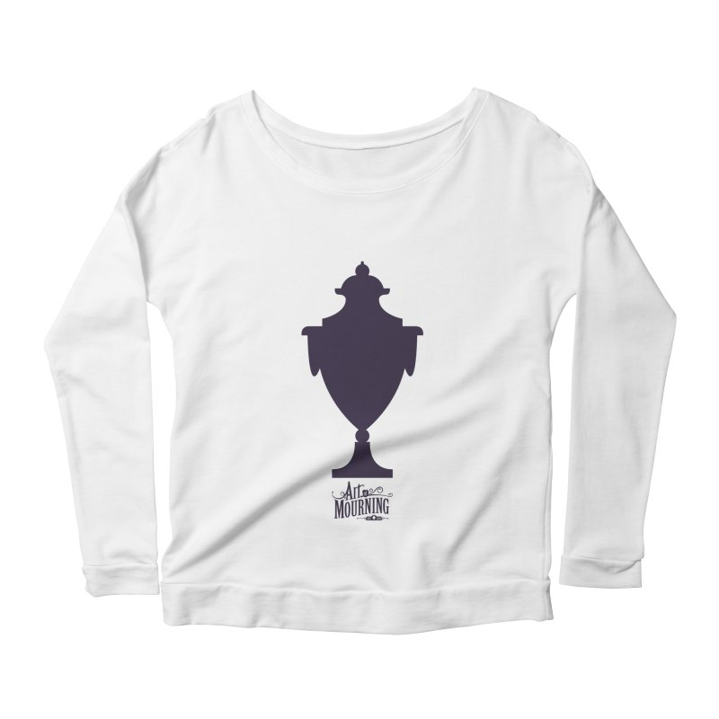 Art of Mourning 'Urn' Women's Longsleeve Scoopneck  by The Art of Mourning Shop