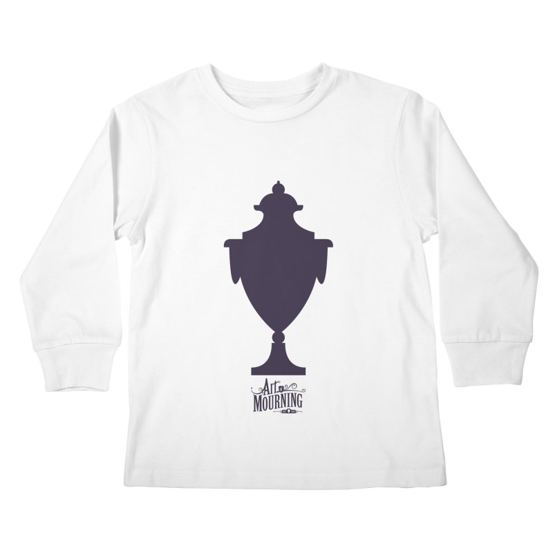 Art of Mourning 'Urn' Kids Longsleeve T-Shirt by The Art of Mourning Shop