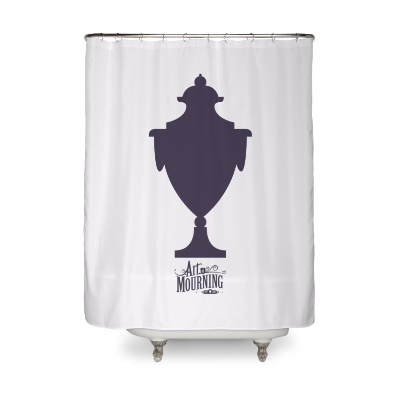 Art of Mourning 'Urn' Home Shower Curtain by The Art of Mourning Shop