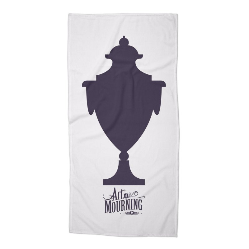 Art of Mourning 'Urn' Accessories Beach Towel by The Art of Mourning Shop