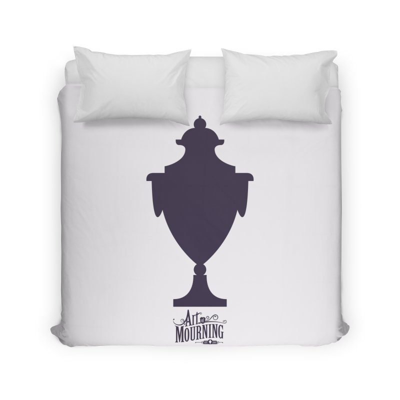 Art of Mourning 'Urn' Home Duvet by The Art of Mourning Shop