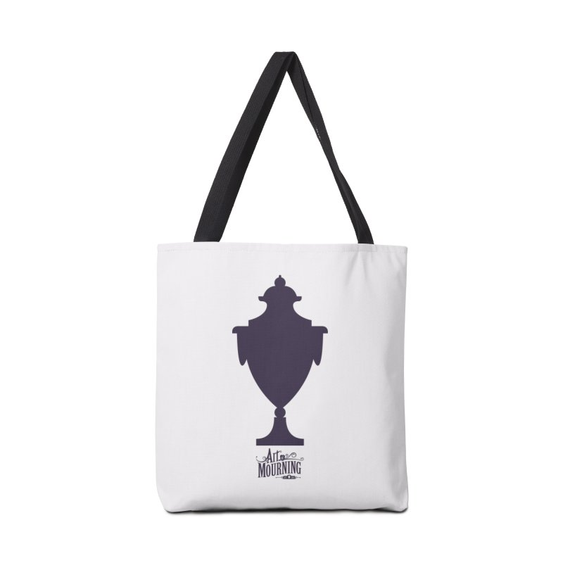Art of Mourning 'Urn' Accessories Tote Bag Bag by The Art of Mourning Shop
