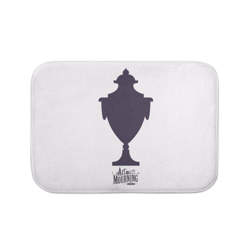 Art of Mourning 'Urn' Home Bath Mat by The Art of Mourning Shop