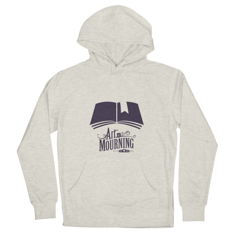 Art of Mourning 'Knowledge' Women's French Terry Pullover Hoody by The Art of Mourning Shop