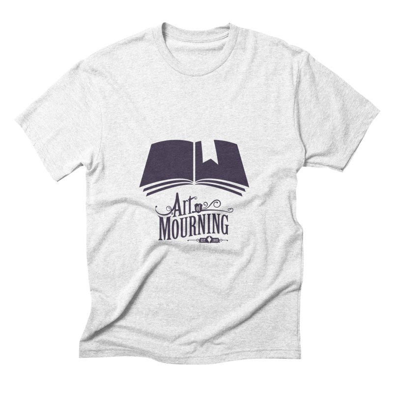 Art of Mourning 'Knowledge' Men's Triblend T-shirt by The Art of Mourning Shop