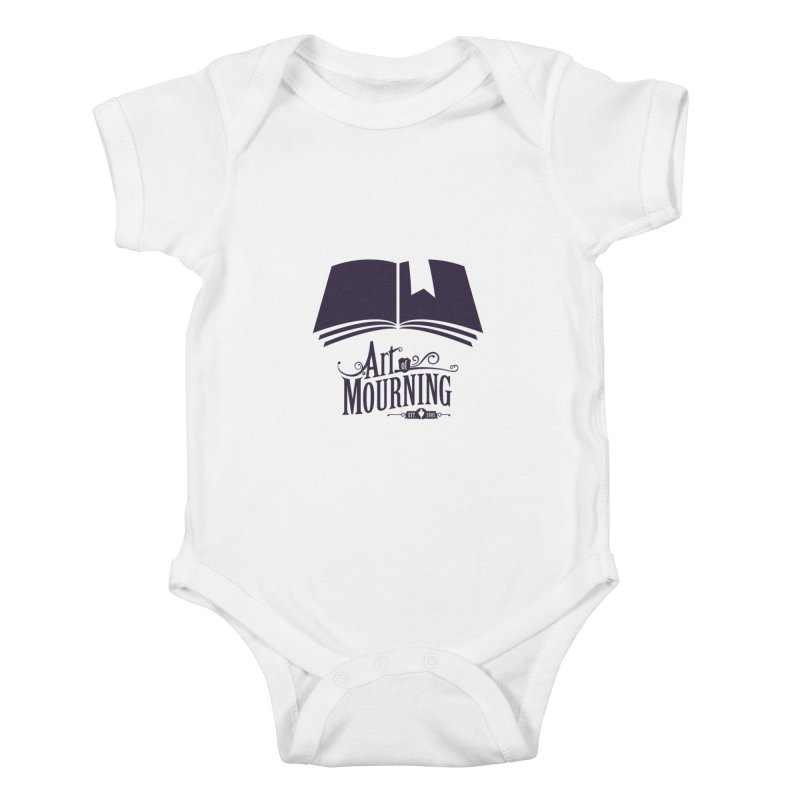 Art of Mourning 'Knowledge' Kids Baby Bodysuit by The Art of Mourning Shop