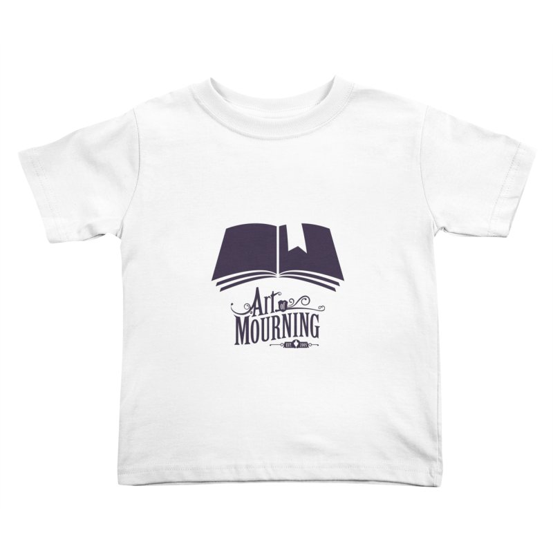 Art of Mourning 'Knowledge' Kids Toddler T-Shirt by The Art of Mourning Shop