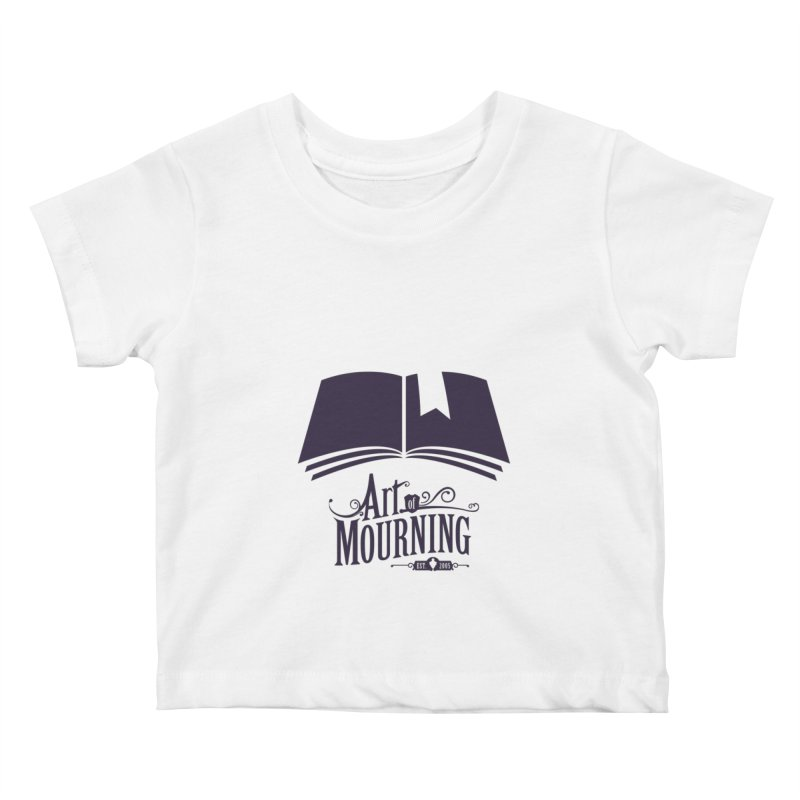 Art of Mourning 'Knowledge' Kids Baby T-Shirt by The Art of Mourning Shop