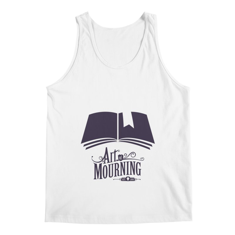 Art of Mourning 'Knowledge' Men's Tank by Art of Mourning Warehouse
