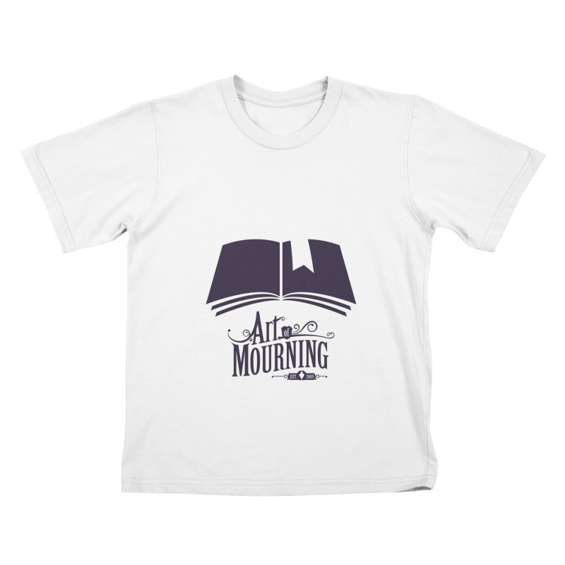 Art of Mourning 'Knowledge' Kids T-Shirt by The Art of Mourning Shop
