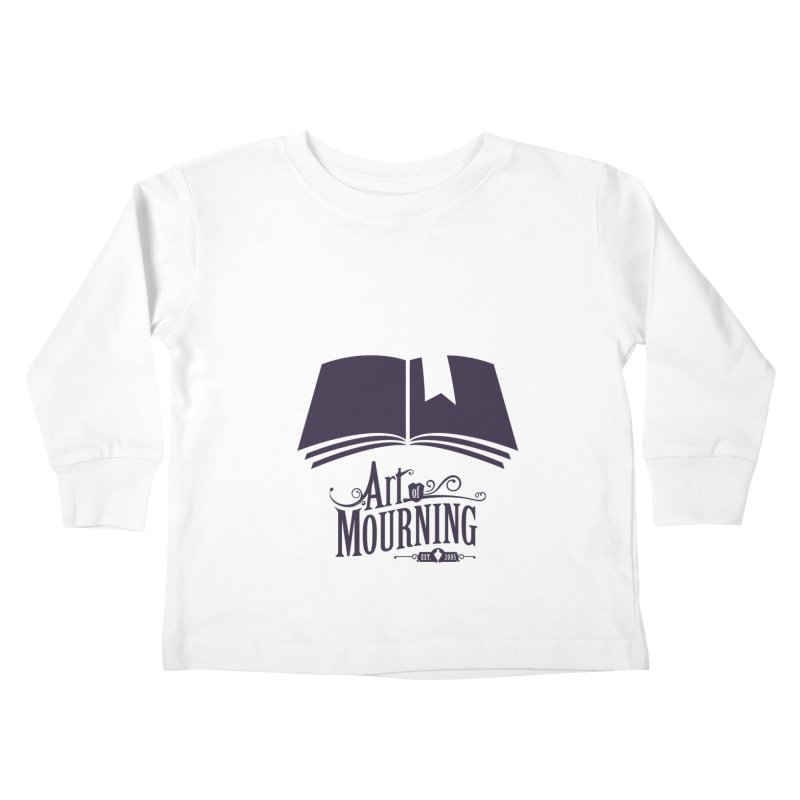 Art of Mourning 'Knowledge' Kids Toddler Longsleeve T-Shirt by The Art of Mourning Shop