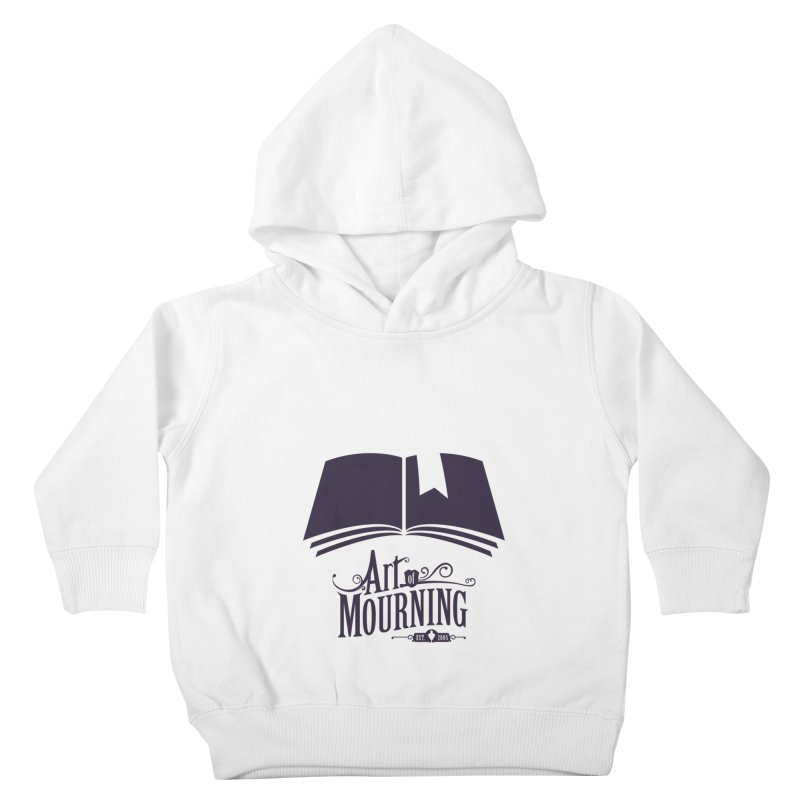 Art of Mourning 'Knowledge' Kids Toddler Pullover Hoody by The Art of Mourning Shop