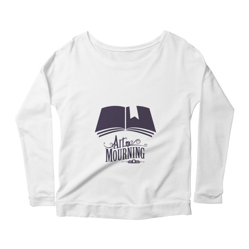 Art of Mourning 'Knowledge' Women's Longsleeve Scoopneck  by The Art of Mourning Shop
