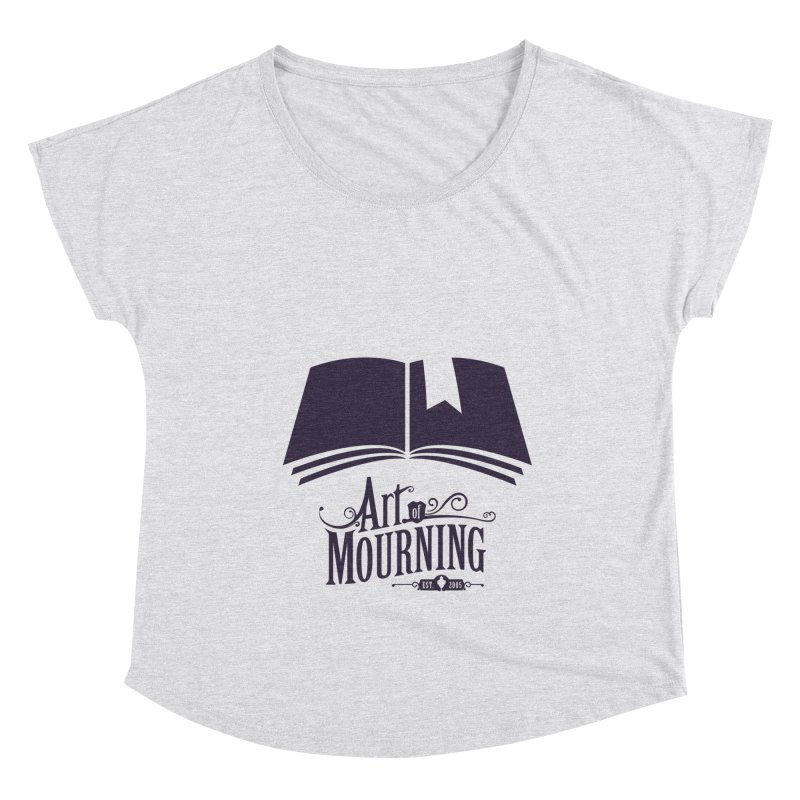 Art of Mourning 'Knowledge' Women's Scoop Neck by The Art of Mourning Shop