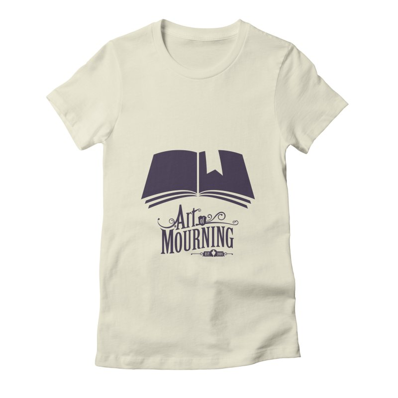 Art of Mourning 'Knowledge' Women's Fitted T-Shirt by The Art of Mourning Shop