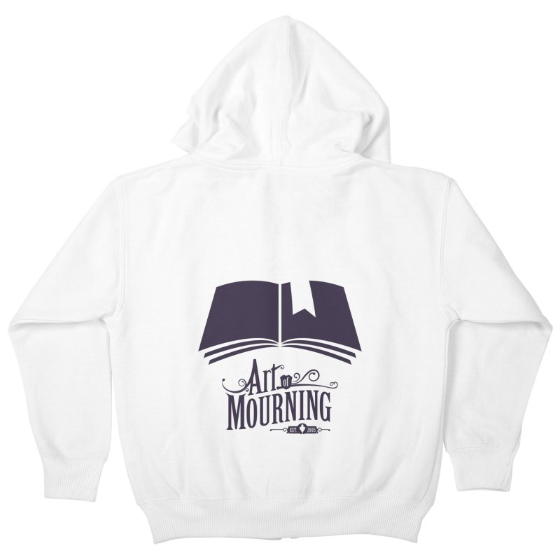 Art of Mourning 'Knowledge' Kids Zip-Up Hoody by The Art of Mourning Shop