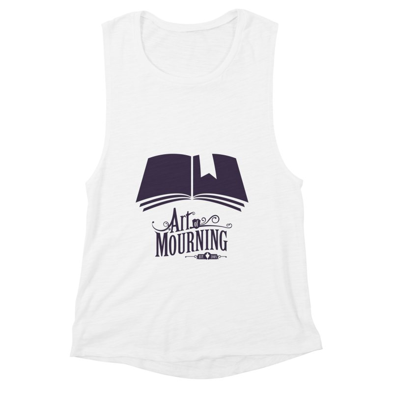 Art of Mourning 'Knowledge' Women's Muscle Tank by The Art of Mourning Shop