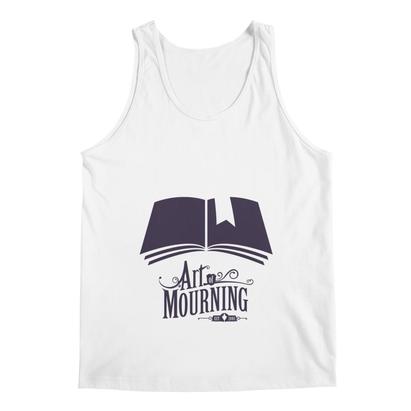 Art of Mourning 'Knowledge' Men's Regular Tank by The Art of Mourning Shop