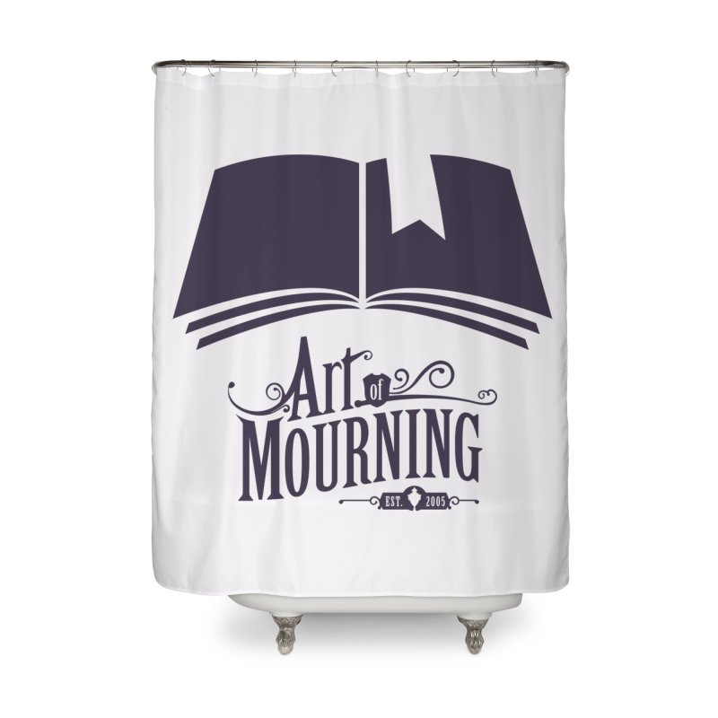 Art of Mourning 'Knowledge' Home Shower Curtain by The Art of Mourning Shop